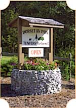 Dorset RV Park Entrance Sign